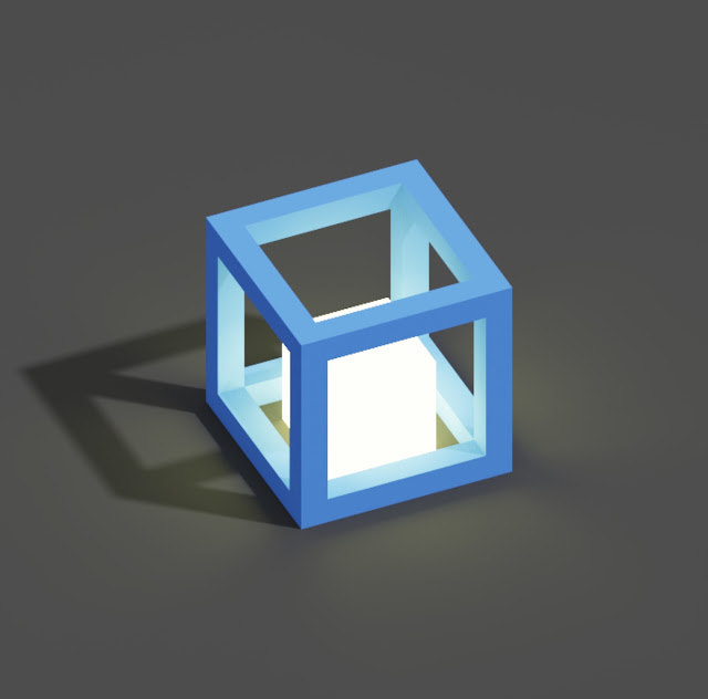 Create Lights in MagicaVoxel using Emission