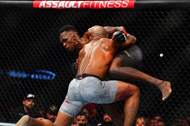 Israel Adesanya Vs Yoel Romero UFC 248
