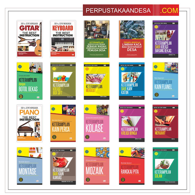 RAB Pengadaan Buku Perpustakaan Desa Di Nusa Tenggara Barat (NTB) Paket 80 Juta