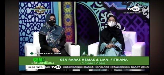 Mahasiswa Prodi PAI Jadi MC Program Gema Ramadhan