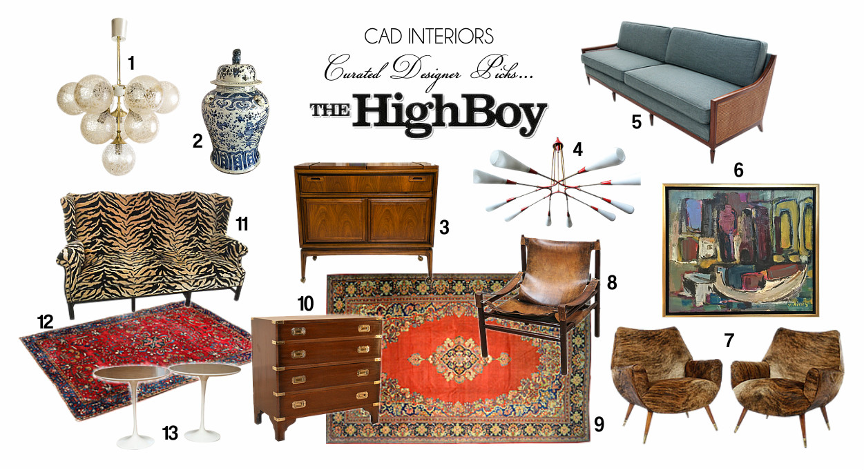 antiques vintage home goods furnishings interior design decor