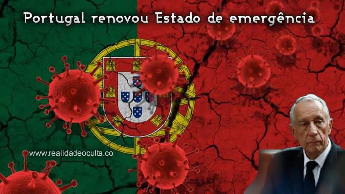 Portugal renova Estado de Emergência