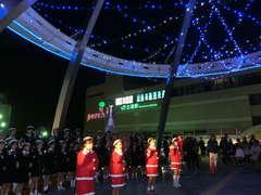 土浦ウィンターフェスティバル開幕!LED2万5千個点灯!