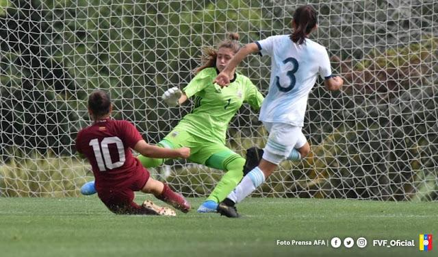 DEPORTES: La Vinotino Femenina Sub 17 venció por 1-2 a la selección de Argentina.