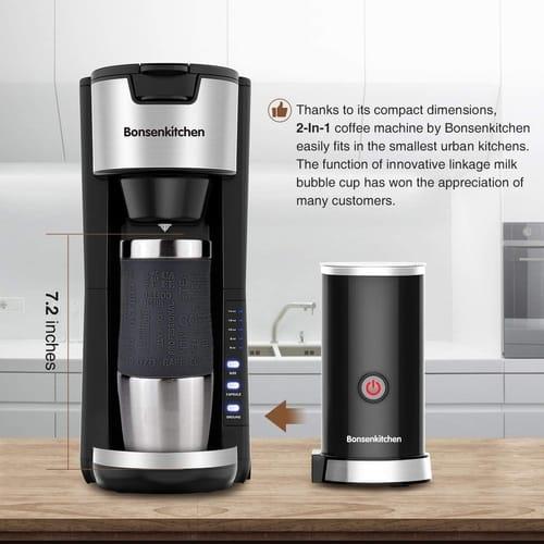 Bonsenkitchen Store Singles Serve Coffee Makers