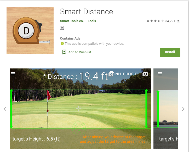 measure distance app