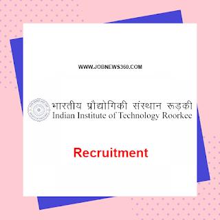 IIT Roorkee Recruitment 2020 for Research Associate