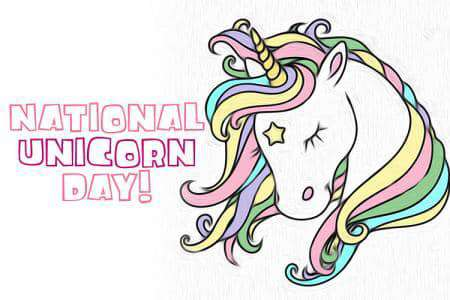 National Unicorn Day Wishes Lovely Pics