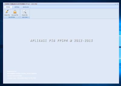 Cara Menginject PIN PPSPM