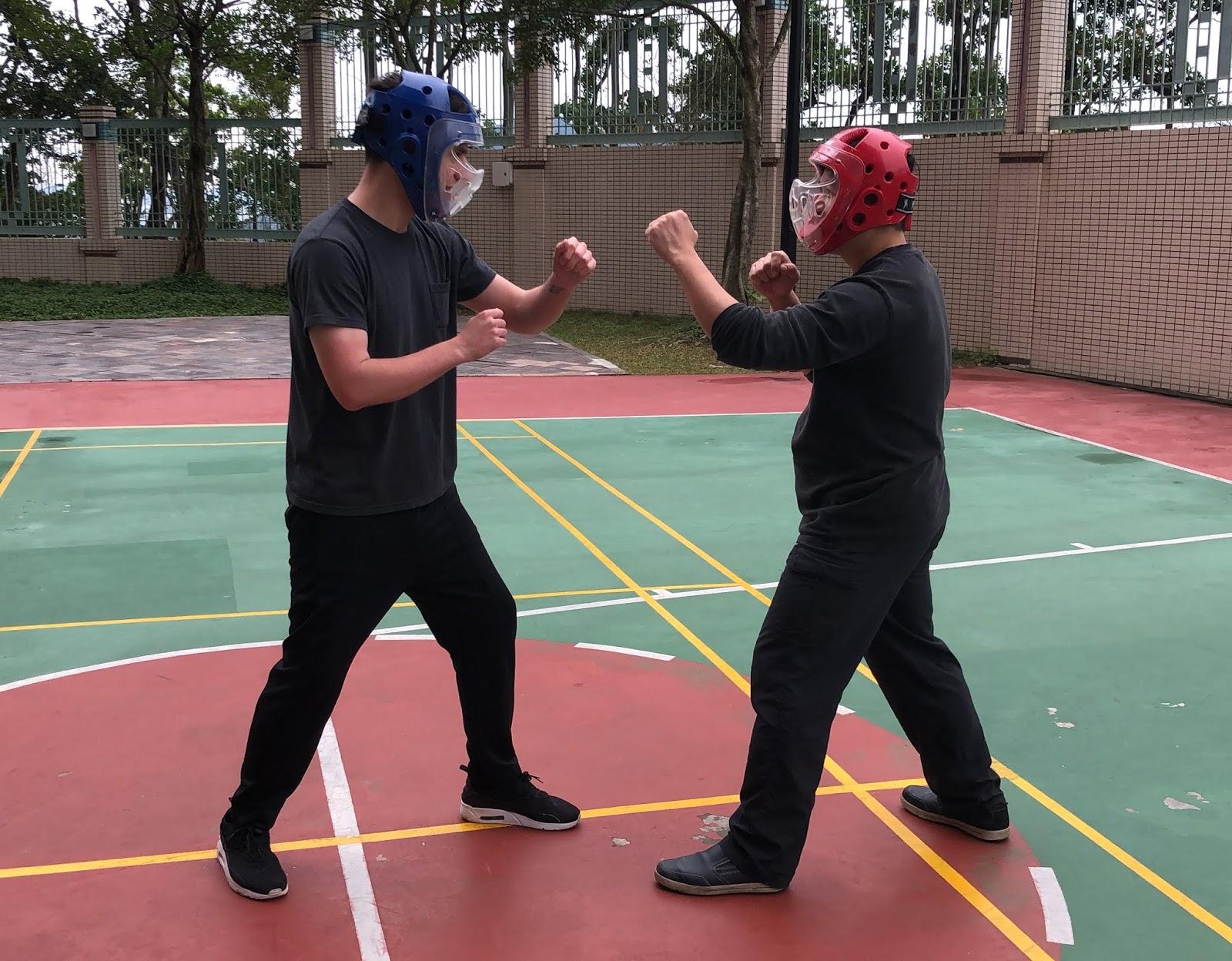 太極拳在自衛時的原則