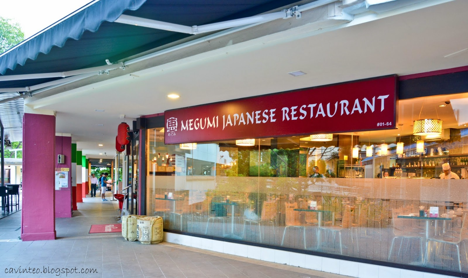Megumi Japanese Restaurant Menu Sunset Way