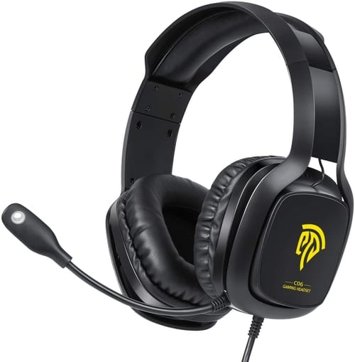 Review TOGETOP Gaming Headset with Noise Canceling Mic