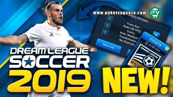 Dream League Soccer Mod PES 2019 APK + Data OBB Update Terbaru