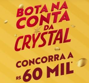 Bota na conta Promoção Crystal 2021 - Participar, Cadastro e Prêmios