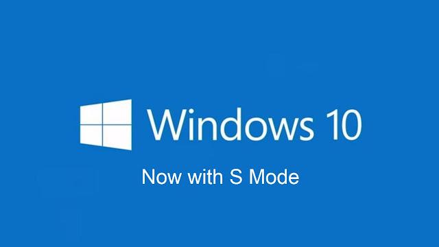 Microsoft kills 'Windows 10S', converts it into 'S mode'.