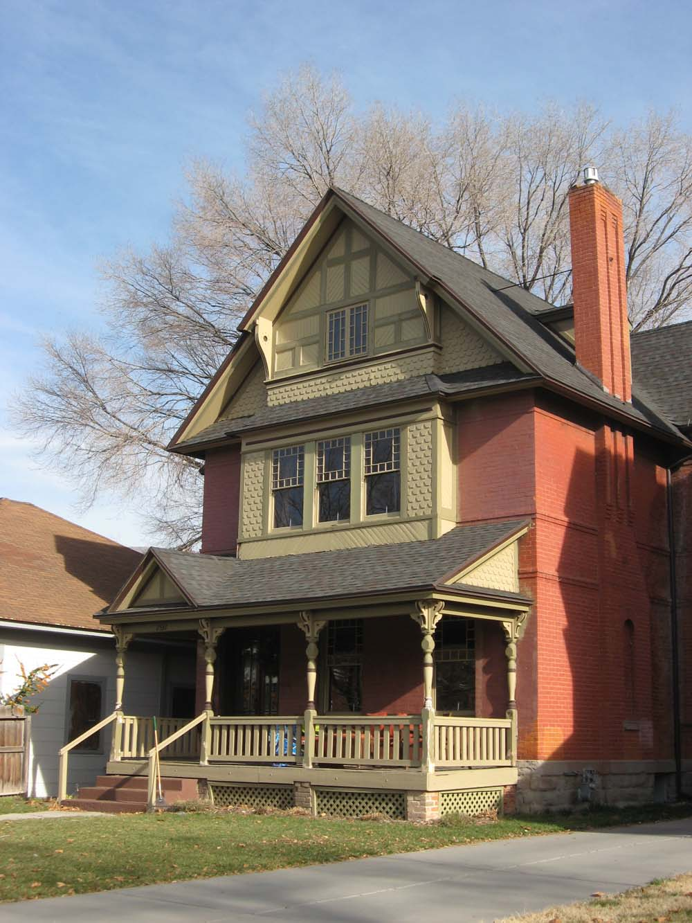 Ogden Insights: Victorian Houses: Front Porches And