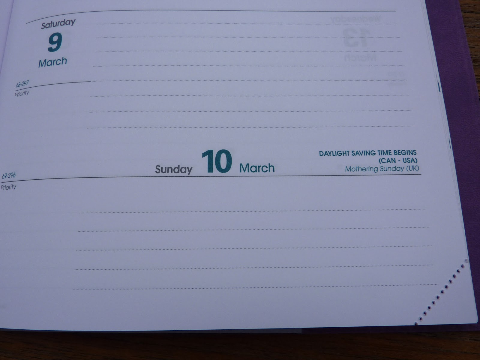 Plannerisms: NEW for 2013! Quo Vadis Hebdo weekly planner