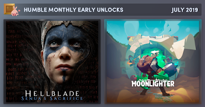 Hellblade: Senua's Sacrifice and Moonlighter in Humble Monthly Bundle