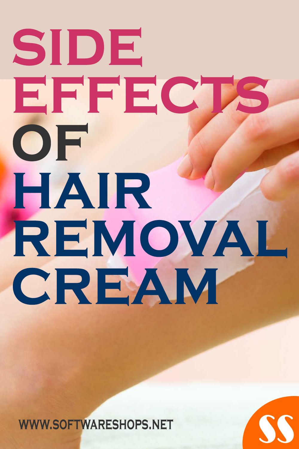 side effects of hair removal cream