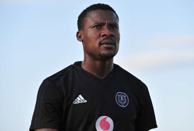 former Orlando Pirates striker Thamsanqa Gabuza