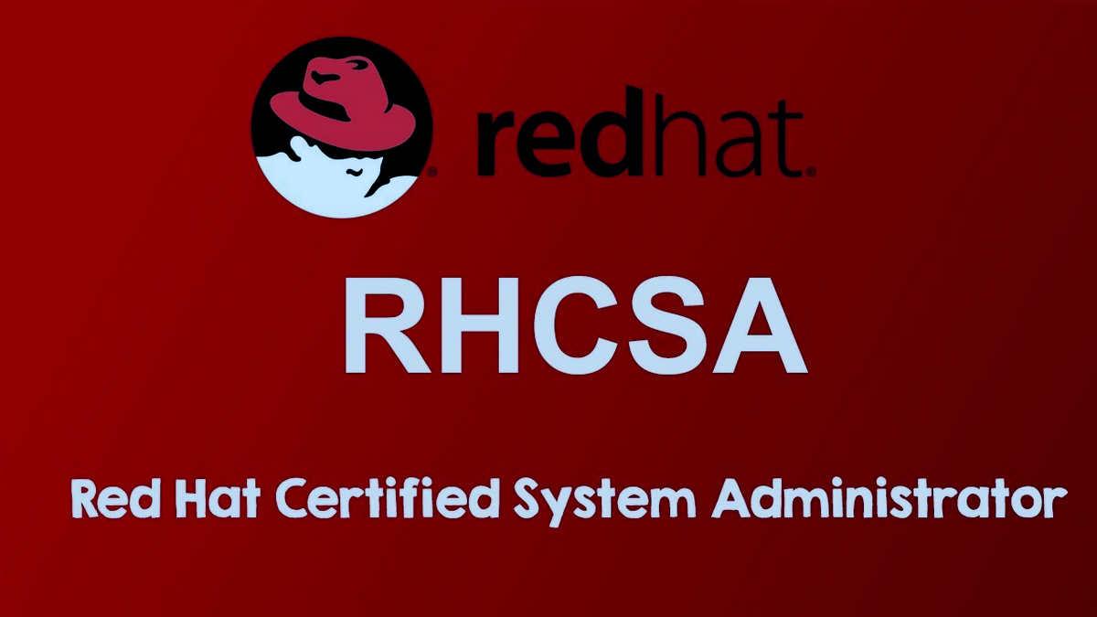 Khóa học quản trị Red Hat Certified System Administrator 2020 mới nhất.