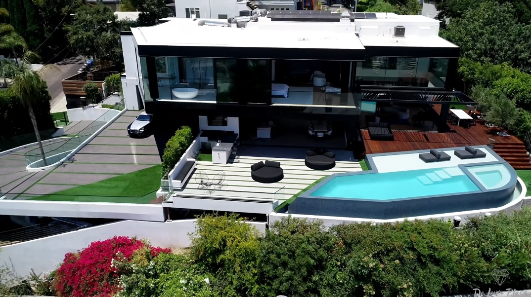 59 Interior Photos vs. 1250 Hilldale Ave, Los Angeles, CA Ultra Luxury Modern Mansion Tour