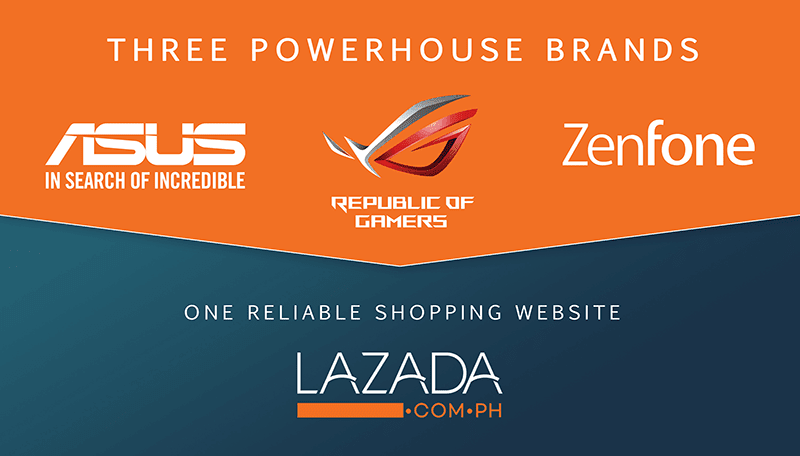 ASUS PH opens three online concept stores at Lazada Philippines