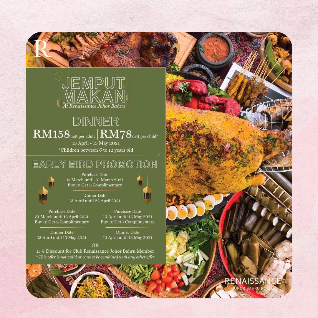 Jemput Makan | Buka Puasa Buffet JB 2021
