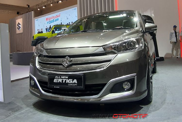 Suzuki All New Ertiga Modifikasi