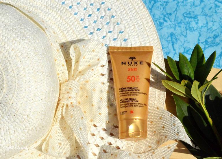 Zachwycający krem do opalania twarzy SPF 50 Nuxe Sun