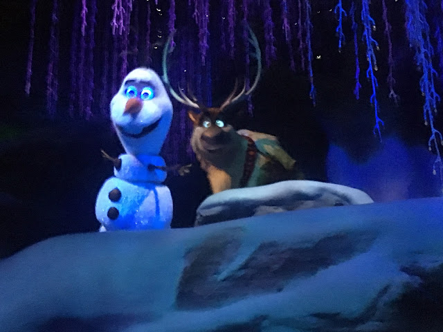 Frozen Ever After Olaf Epcot