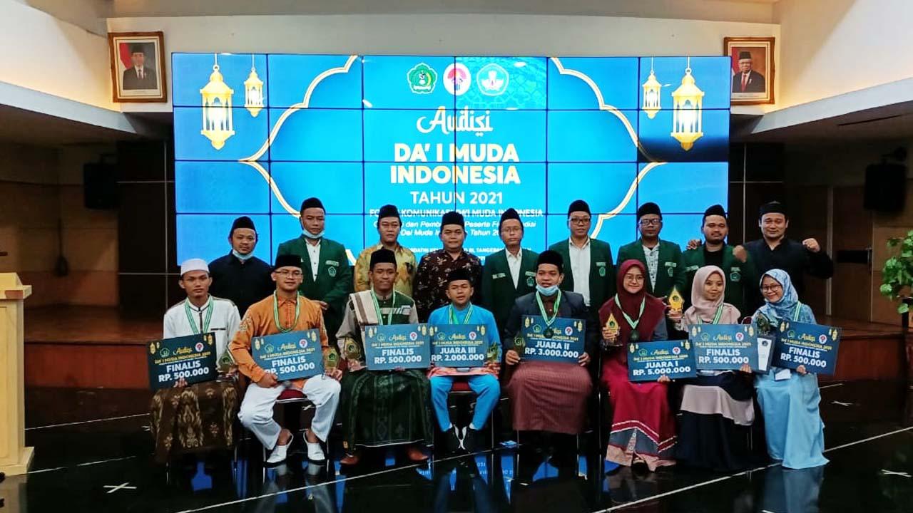 FKDMI dan Kemenpora RI Sukses Gelar Audisi Da'i Muda Indonesia 2021