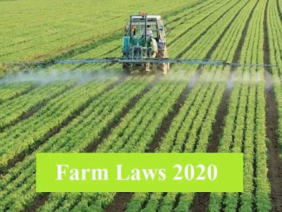 New Agricultural Reforms 2020