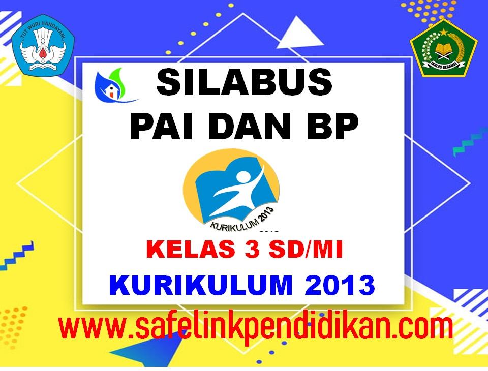 Silabus PAI Dan BP Kelas 3 SD/MI