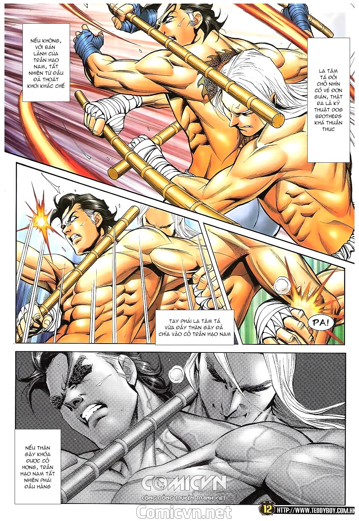 Người Trong Giang Hồ - Chapter 1633: Ác chiến La Tâm Tá 2 - Pic 9