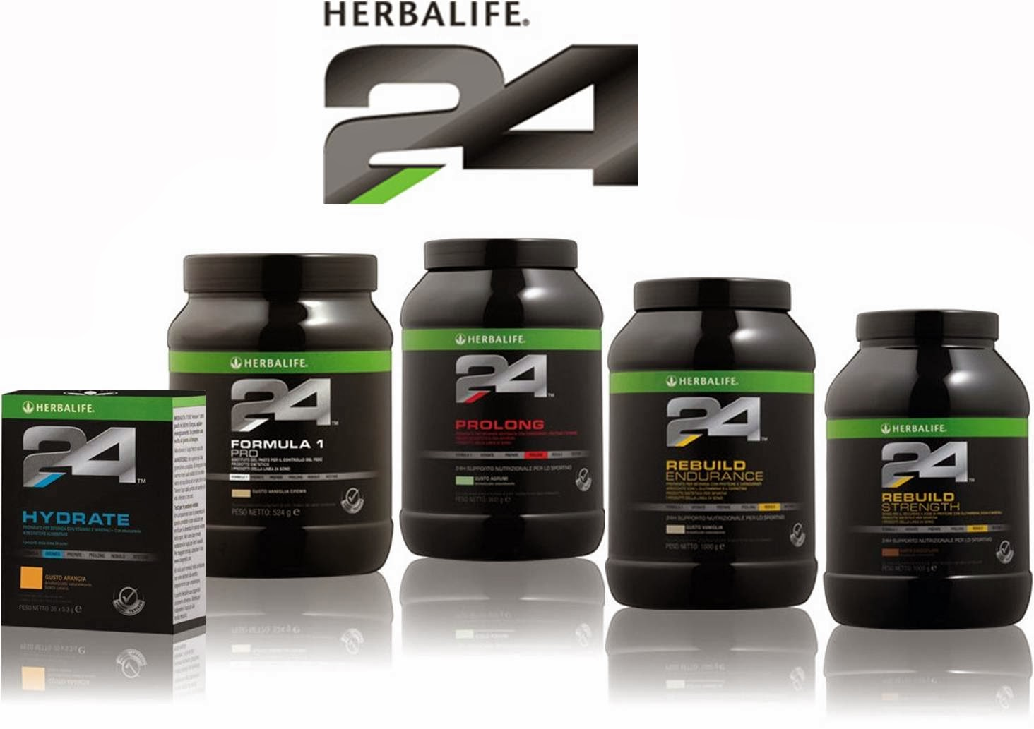 It's just a graphic of Challenger Herbalife Product Nutrition Labels