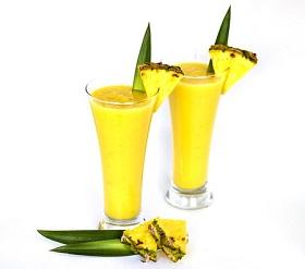 طريقة عمل عصير detox الأناناس و الليمون