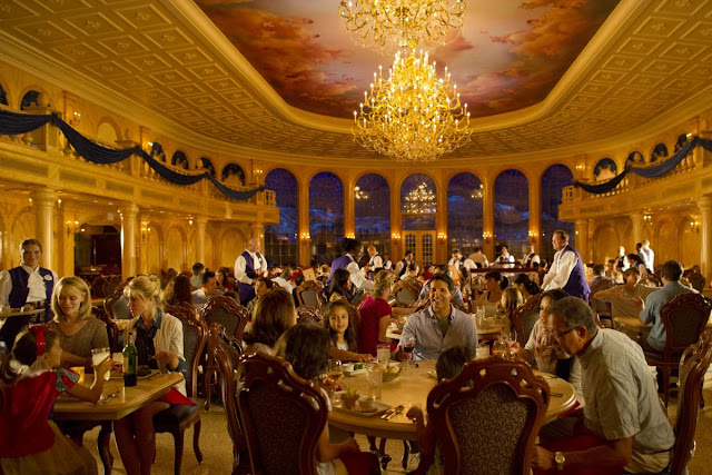 Restaurante Be Our Guest no Magic Kingdom