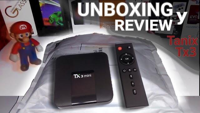 review de la tv box tanix tx3 mini