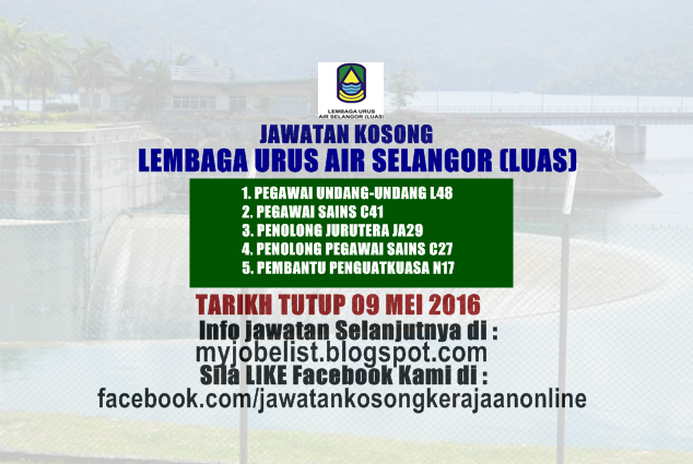 Lembaga Urus Air Selangor In English Author On U