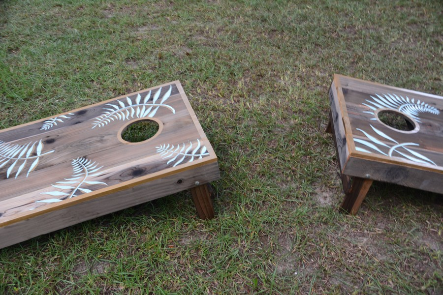 corn hole design