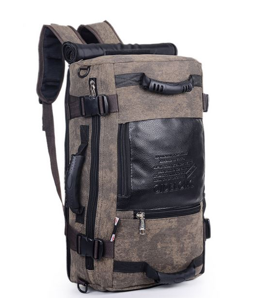 Multipurpose Travel Backpack - Brown