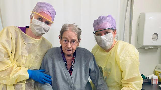 امرأة هولندية عمرها 101 عام تهزم فيروس كورونا