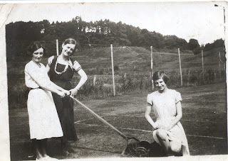 Grandmother and her pals at a lawn tennis club, by jmcarthy99, on Flickr