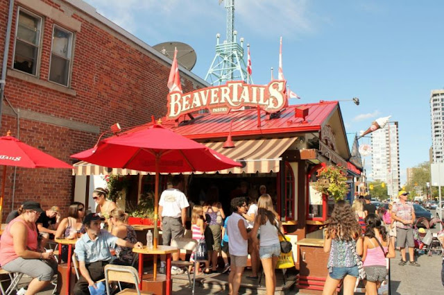 BeaverTails no ByWard Market em Ottawa