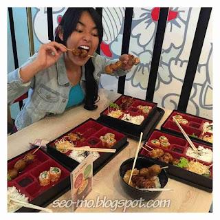 Foto Amanda Manopo Saat Makan