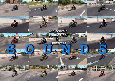 Sounds for Motorcycle Traffic Pack by Jazzycat v2.2
