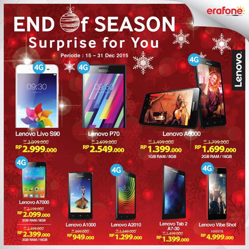 Promo Lenovo Di Indonesia Harga Smartphone A369i Dual On Sim 4 Gb Hitam End Of Season Erafone