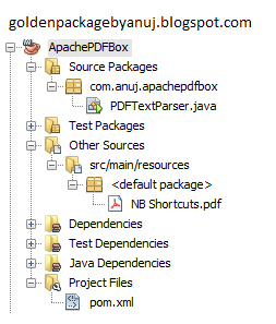 J2EE Labs: Apache PDFBox - Parse PDF to text using java