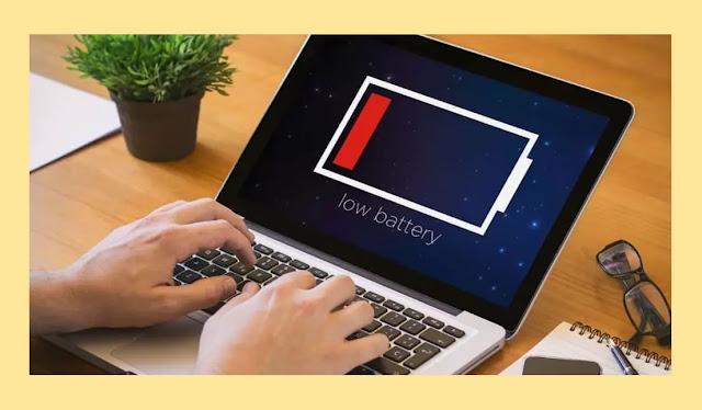 Cara Meningkatkan Umur Pakai Baterai Pada Laptop